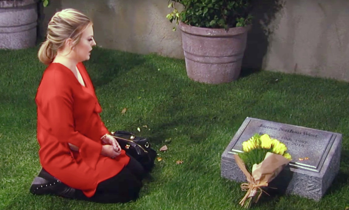 General Hospital (GH) Spoilers: Maxie Visits Nathan's Grave, Wants His Blessing To Marry Peter