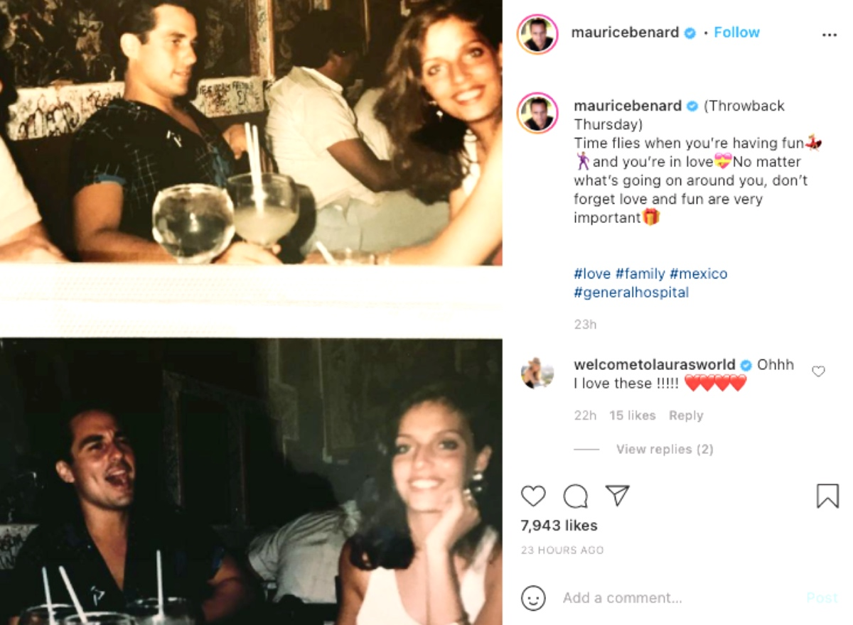 General Hospital (GH) Spoilers: Maurice Benard Shares Handsome Throwback Photo With Wife Paula