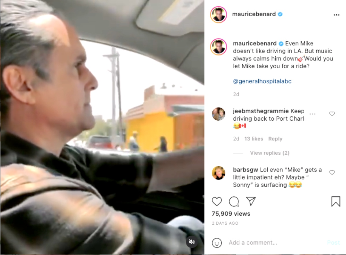 General Hospital (GH) Spoilers: Maurice Benard Spills The Tea On What Kind of Music Mike Grooves Out To RTV