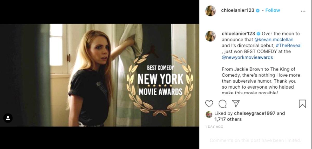 General Hospital (GH) Spoilers: Chloe Lanier Stars In Award Winning Film