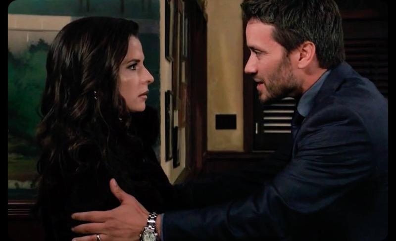 General Hospital: Sam McCall (Kelly Monaco) and Dante Falconeri (Dominic Zamprogna)