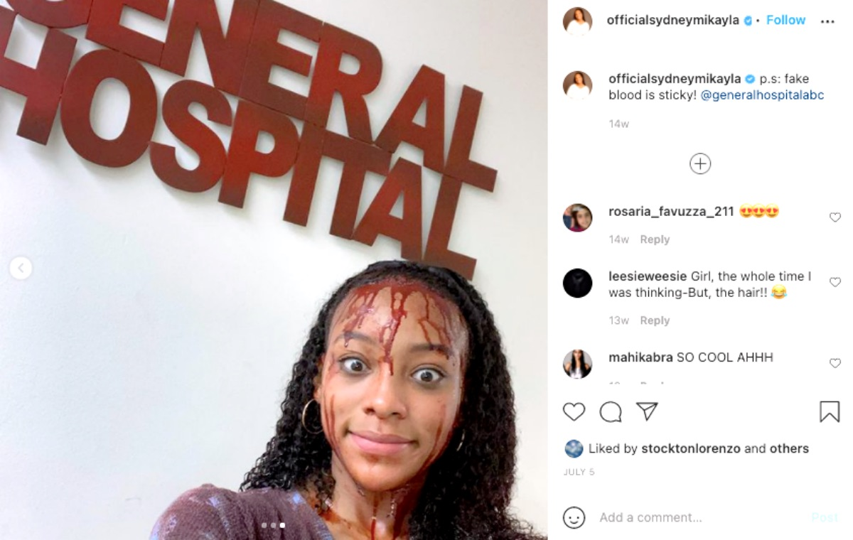 General Hospital Spoilers: Sydney Mikayla Confirms She Is Not Leaving GH